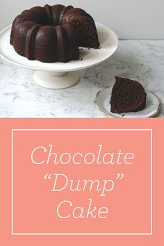 This chocolate cake is tastier than a boxed mix, but just as easy. The best part? You only need one bowl. Dump Cake Recipes, Dessert Recipes, Dump Cakes, Just Desserts, Delicious Desserts, Chocolate Desserts, Chocolate Cake, Chocolate Coffee, Yummy Treats
