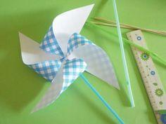 Tutorial fai da te: Come realizzare una girandola di carta via DaWanda.com