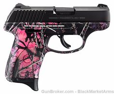 RUGER LC9s PINK MUDDY GIRL CAMO 9MM LC9 9 MM 3243 : Semi Auto Pistols at…