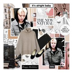"""happy birthday jimin!"" by sea-salt ❤ liked on Polyvore featuring Wall Pops!, Old Navy, Yves Saint Laurent, Bobbi Brown Cosmetics, kpop, bts, BangtanBoys, jimin and Happybirthdayjimin"