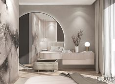 Behance is the world's largest creative network for showcasing and discovering creative work Modern Luxury Bedroom, Master Bedroom Interior, Luxury Bedroom Design, Bedroom Closet Design, Bedroom Furniture Design, Room Ideas Bedroom, Home Room Design, Luxurious Bedrooms, Home Decor Bedroom