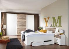 Epic Schlafzimmer komplett Trento wei wildeiche Buy now at http