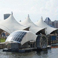 This Solar-Powered Water Wheel Can Clean 50,000 Pounds of Baltimore's Trash Per Day