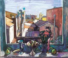 Rooftops and Still Life, Leon Morrocco Still Life Artists, Tove Jansson, Be Still, Contemporary Art, Pictures, Things To Sell, Windows, Rooftops, Morocco