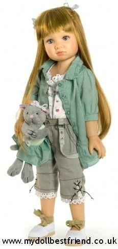 Amber:  Kidz 'n' Cats doll face 2