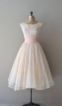 Parlor Match dress pink 1950s dress vintage 60s by DearGolden