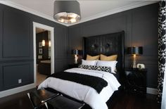 charcoal painted rooms | ... painted a charcoal while charcoal grey is certainly acceptable i do