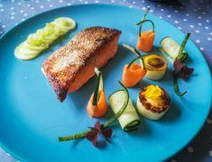 Avocado Egg, Parsley, Salmon, The Cure, Veggies, Gluten Free, Potatoes, Mint, Training