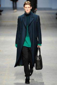 Costume National Fall 2014 Menswear Collection Slideshow on Style.com