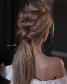 gorgeous ponytails