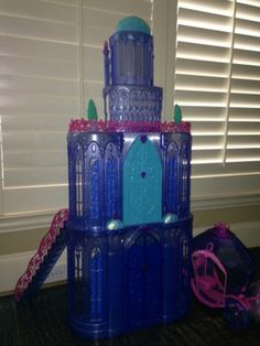 Mattel Barbie The Diamond Castle Playset All Items Pictured Included   eBay