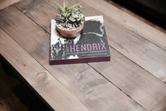 Rustic Industrial Coffee Table / Farmhouse by LittleWoodenPenguin