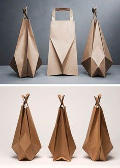 Paper bag origami by Ilvy Jacobs  #design #origami #paper - weekend bag womens sale, black bag leather, all bags store *sponsored https://www.pinterest.com/bags_bag/ https://www.pinterest.com/explore/bag/ https://www.pinterest.com/bags_bag/messenger-bags-for-women/ http://www.zara.com/us/en/collection-ss-17/woman/bags-c358019.html