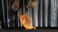 SCARF PUPPET! by Frisch Marionettes on Vimeo-In action! Awesome!