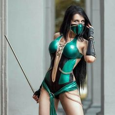 German photog @azproductioncosp with an awesome shot of #MortalKombat's Jade
