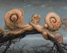 """""""Elements of betrayal"""" by Jaroslaw Kukowski. A Polish artist bringing up issues with social values using surrealism."""