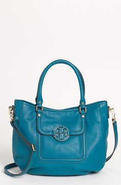 Tory Burch 'Amanda' Leather Hobo available at #Nordstrom