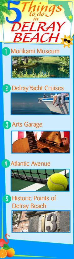 5 Things to do in Delray Beach, Florida! #thingstodo #southfloridafun #delraybeach