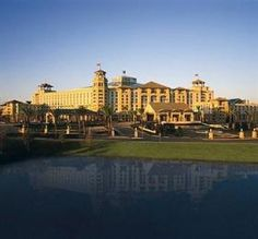 Gaylord Palms Resort & Convention Center in Orlando. Stayed here for our 10th Anniversary. GREAT place!!!
