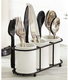 Pottery Barn Cucina Flatware Caddy on shopstyle.com