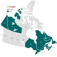 Provinces I've Been To