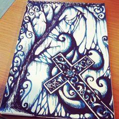 #Noelarts #gothic #goth #darkness #vampire #fashion #style #harajuku #rock #punk #emo #artist #art #roses #eyes #skull