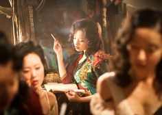 I absolutely love the costume design in this film (The Flowers of War; 金陵十三钗) - Ni Ni starring as the scintillating Yu Mo