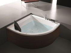 Modernes bad mit eckbadewanne  modernes bad eckbadewanne whirlpool NOVA HAFRO   Dekoration wohnen ...