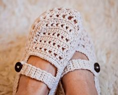 This is an adult version for my Milky Baby Booties. They turned out very light, breathable and perfect for summer days. I added strap to make them more comfy and to stay on better.Sizes:EU 37-38 / US 6-7EU 39-40 / US 8-9EU 41-42 / US 10-11For size EU 35-36 / US 4-5 use instructions for sizes EU 37-38 / US 6-7, but work with 3.25mm crochet hook, or you can use lighter yarn instead.Materials:210, 250,290 yds of DK weight yarn (any wool blend yarn will work perfectly we...