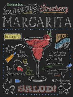 Margarita de Morango