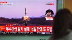 Corea del Norte prueba nuevo misil balístico en medio de las crecientes tensiones con Estados Unidos