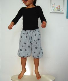 balloon pants. adorable.