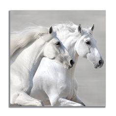 Winter Gallop (detail) Canvas