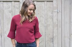 Bell Sleeves Shirt Outfit. How to wear and style bell sleeves