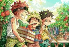 Read Kid Law Lu from the story One Piece Doujinshi + Ảnh by ( ) with reads. one-piece, luffy, sabo. One Piece Manga, One Piece Drawing, One Piece Comic, One Piece Fanart, One Piece Images, One Piece Pictures, Manga Anime, Manga Art, Blade Runner