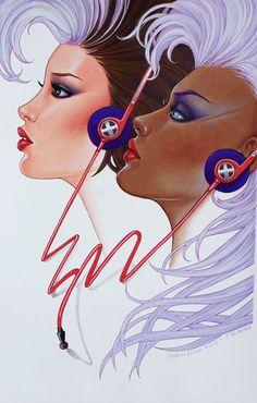 Rogue & Storm Syd Brak homage by Conny Valentina