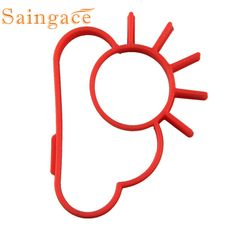 1pcs egg sun egg shaper silicone moulds egg ring silicone mold cooking tools Tortilla de molde moule Omelette muffa !2