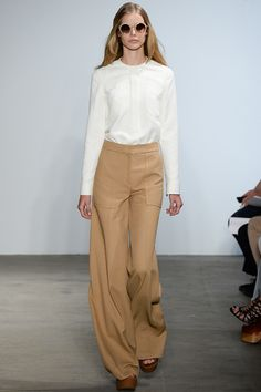 Derek Lam Spring 2015 Ready-to-Wear - Collection - Gallery - Look 5 - Style.com. Wide Leg Pants.
