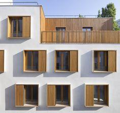 Logements / Passage de la Brie / Paris 19 - EXPLORATIONS ARCHITECTURE