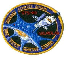 space mission patches | STS-90 Mission Patch