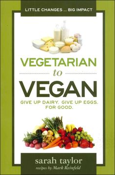 Vegetarian to Vegan: Give up Dairy. Give Up Eggs. For Good