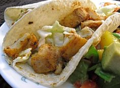 Stir-Grilled Fish Tacos