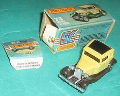 VINTAGE MATCHBOX SUPERFAST 73 MODEL A FORD NEW IN BOX LESNEY 1979 ENGLAND CAR - http://www.matchbox-lesney.com/?p=15216