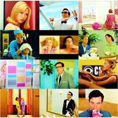 Down With Love movie (2003) -- LOVE this movie, they do a great job of poking fun at the 60s era and I especially love the plot twist at the end, so atypical! And it still has a happy ending! Definitely a have your cake and eat it too kind of film :D