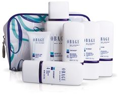 Obagi...love this stuff! The Nu-Derm system helps my skin look great...this system really does what it says - best thing I ever did for myself.