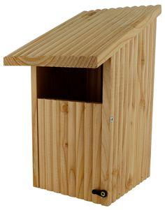 Nido per Pettirosso in legno naturale puoi trovarlo su floradecor.it  in Nidi + Casette per uccelli #birdhouses #birdgarden #nestboxes #wildlifegarden