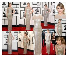 """Taylor Swift At Grammy Awards 2014"" by farrahdyna ❤ liked on Polyvore"