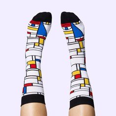 Feet Mondrian Socks | Mens