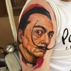 Работа тату мастера Николая.  Он основал тату салон в санкт-петербурге Real Ink, кому интересно посмотртеть еще работы милости просим на наш сайт http://realinktattoo.com/