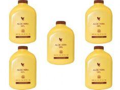 5 x Aloe Vera Gel,antioxidant drink,96% pure aloe vera